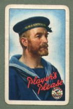 Collectable Cigarette advertising playing cards  Player's Please